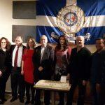 Η Τοπική Διοίκηση Κοζάνης της Διεθνούς Ένωσης Αστυνομικών έκοψε την καθιερωμένη πρωτοχρονιάτικη πίτα (Φωτογραφίες)
