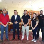 Επίσκεψη της ομάδας Tyφoon MotoRacing του Πανεπιστημίου,  στον Περιφερειάρχη Δυτικής Μακεδονίας (Βίντεο)