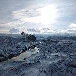 kozan.gr: Η πανέμορφη φωτογραφία με το κατάλευκο τοπίο στο Ορυχείο Αμυνταίου και τον εκσκαφέα Ε6 στην κατάσταση στην οποία περιήλθε μετά την κατολίσθηση