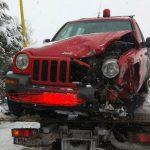 kozan.gr: Τροχαίο με πυροσβεστικό όχημα στο 1χλμ. Πτολεμαίδας – Μποδοσάκειου – Προληπτικά στο νοσοκομείο ο οδηγός, πυροσβέστης, του οχήματος (Φωτογραφίες)