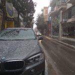 Kozan.gr: Ώρα 14.00: Ξεκίνησε η χιονόπτωση στην Πτολεμαΐδα (Βίντεο)