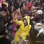 200 φοιτητές Erasmus+ στη φετινή αποκριάτικη παρέλαση στην Κοζάνη (Φωτογραφίες)