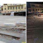 kozan.gr: Το πριν και το μετά της κεντρικής πλατείας Κοζάνης, μετά πάρτι νεολαίας & το πρωί της Κυριακής (Βίντεο & Φωτογραφίες)