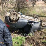 kozan.gr: Εκτροπή κι ανατροπή οχήματος στο 2ο χλμ. Πτολεμαΐδας – Περδίκκας  (Βίντεο & Φωτογραφίες)
