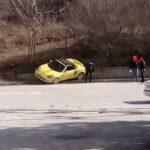 kozan.gr: Kοζάνη: Αυτοκίνητο εξετράπη, της πορείας του και κατέληξε σε τοιχίο (Φωτογραφίες)