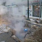 kozan.gr: Πτολεμαίδα: Εργασίες σε αγωγό τηλεθέρμανσης επί της οδού Διοικητηρίου στο ύψος του Ι.Ν. Αγιας Τριάδος (Βίντεο & Φωτογραφίες)