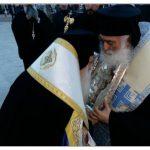 Τα τιμαλφέστατα ιερά κειμήλια, που φυλάσσονται στηνΙερά Μονή Αγίου Αθανασίου Εράτυρας Κοζάνης,μετέφερε, την Παρασκευή 23/3, στονΜητροπολιτικό Ιερό Ναό Αγίου Νικολάου Βόλου, οΣεβ. Μητροπολίτης Σισανίου & Σιατίστης κ.κ. Παύλος
