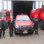 Νέο πυροσβεστικό όχημα απέκτησε  το Πυροσβεστικό Κλιμάκιο Νεάπολης