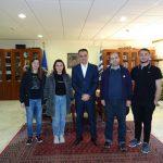 Η ομάδα ρομποτικής του Τμήματος Μηχανικών Πληροφορικής και Τηλεπικοινωνιών του Πανεπιστημίου Δυτικής Μακεδονίας επισκέφθηκε τον Περιφερειάρχη (Φωτογραφίες & Βίντεο)