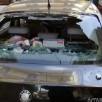 kozan.gr: Κοζάνη: Σοβάδες αποκολλήθηκαν από τοίχο οικοδομής και έπεσαν πάνω σε διερχόμενο αυτοκίνητο (Φωτογραφίες)