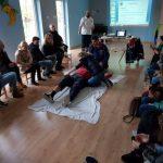 Koζάνη: H εκπαιδευτική ομάδα του ΕΚΑΒ Κοζανης έδωσε χρηστικές συμβουλές πρώτων βοηθειών σε γονείς και εκπαιδευτικούς στον παιδικό σταθμό Μπλε Μωβ