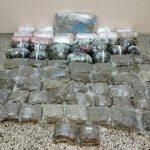 Συνελήφθη 34χρονος  για διακίνηση μεγάλης ποσότητας ακατέργαστης κάνναβης, βάρους 55  κιλών και 770  γραμμαρίων, σε περιοχή της Κοζάνης (Φωτογραφίες)