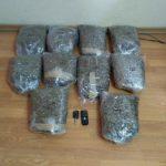 Συνελήφθη 54χρονος για διακίνηση ακατέργαστης κάνναβης, βάρους 10 κιλών και  204  γραμμαρίων, σε περιοχή της Καστοριάς (Φωτογραφίες)