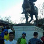 Mικροένταση μεταξύ οπαδών του ΠΑΟΚ και του δρομέα Γιώργου Ζαχαριάδη, από την Πτολεμαΐδα, ατά τον τερματισμό του 13ου Διεθνούς Μαραθωνίου «Μέγας Αλέξανδρος» στην παραλιακή λεωφόρο της Θεσσαλονίκης – Το μήνυμα του Γιώργου Ζαχαριάδη για το περιστατικό