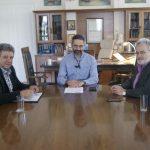 Με τη διοίκηση του Εργατικού Κέντρου Κοζάνης συναντήθηκε, την Παρασκευή 27/4,  ο δήμαρχος Λ. Ιωαννίδης