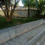 Κοζάνη: Καταγγελία αναγνώστριας στο kozan.gr: Ασυνείδητος έριξε φυτοφάρμακο (μάλλον), σε τοίχο που κάθονται οι μητέρες και τα παιδιά τους