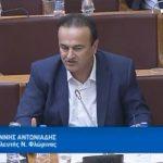 Γιάννης Αντωνιάδης: Άμεσος κίνδυνος πτώχευσης επιχειρήσεων εξαιτίας καταχρηστικής συμπεριφοράς τραπεζών-fund στο δανεισμό με προσημειωμένα περιουσιακά στοιχεία (μη στρατηγικοί κακοπληρωτές)