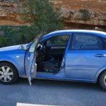 Xρώμιο Κοζάνης: Μαγνητικό πεδίο προκαλεί την κίνηση αυτοκινήτου, με σβηστή μηχανή, σε ανηφόρα (Βίντεο)