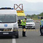 Φωτογραφίες και βίντεο από το τροχαίο δυστύχημα στην Εγνατία Οδό στο ύψος της Κουλούρας