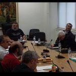 Συνεδρίασε η Ομάδα Συντονισμού για την επιτάχυνση της μετεγκατάστασης Ποντοκώμης (Φωτογραφίες)