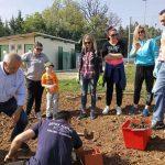 Φύτευση αρωματικών φυτών στην Αγία Παρασκευή Κοζάνης (Φωτογραφίες)