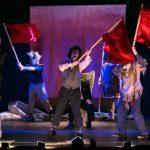 ΤΟ ΠΟΡΦΥΡΟ ΝΗΣΙ  ή μια πολιτική αλληγορία, αλλά μην το πείτε στον πατερούλη Στάλιν  *ΔηΠεΘε Κοζάνης | Θέατρο Άλφα – Ιδέα*  | Παρασκευή 20, Σάββατο 21, Κυριακή 22, Δευτέρα 23 Απριλίου 9.00μμ, Αίθουσα Τέχνης, Πάρκο Αγίου Δημητρίου Κοζάνη