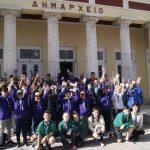 Τους 44 αεροπροσκόπους του 291ου Συστήματος Αεροπροσκόπων Παραλιμνίου, υποδέχτηκε την Παρασκευή στο Δημαρχείο Κοζάνης, ο δήμαρχος Λευτέρης Ιωαννίδης
