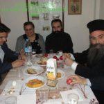 Γιορτάστηκε η Τετάρτη της Διακαινησίμου στο Μητροπολιτικό Παρεκκλήσι  του Αγίου Βαραδάτου Κουβουκλίων με Αρχιερατική Θεία Λειτουργία.  (του παπαδάσκαλου Κωνσταντίνου Ι. Κώστα)