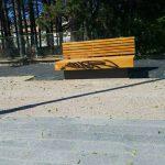 Πτολεμαίδα: Ανάπλαση νότιας εισόδου – Βανδαλισμός σε καινούριο παγκάκι (Φωτογραφία)