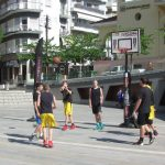 kozan.gr: Σε γήπεδο μπάσκετ, για αγώνες 3Χ3, μετατράπηκε, το πρωί του Σαββάτου 26/5, η κεντρική πλατεία Κοζάνης (Βίντεο)