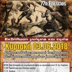 Πτολεμαΐδα: Eορτασμός της 77ης επετείου για την «Μάχη της Κρήτης»  την Κυριακή 3 Ιουνίου