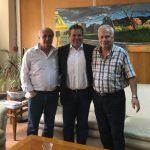 Σειρά επαφών του προεδρείου του Σωματείου Συνταξιούχων ΔΕΗ στην Αθήνα