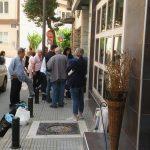 Ατύχημα με πεζή που την «παρέσυρε» επαγγελματικό αυτοκίνητο σε κεντρικό σημείο της Κοζάνης (Φωτογραφίες)