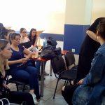 ΙΔΙΩΤΙΚΟ ΙΕΚ VOLTEROS:Ημέρα Καριέρας για το τμήμα «Τεχνικός Αισθητικής Τέχνης & Μακιγιάζ» απ' τονSenior Makeup Artist της Kryolan, Γιώργο Κεραμιδά διεξήχθη σήμερα στο χώρο του Ιδιωτικού ΙΕΚ VOLTEROS στην Κοζάνη (Φωτογραφίες)