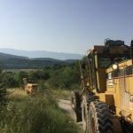 Εργασίες συντήρησης, αποκατάστασης και διαμόρφωσης αγροτικής οδοποιίας εκτελούν αυτές τις ημέρες τα γκρέιντερ του Δήμου Σερβίων-Βελβεντού
