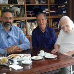 Λευτέρης Ιωαννίδης & Πολυνείκης Αγγέλης συναντήθηκαν με τον Νικόλαο Μουτσόπουλο