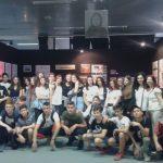 """Επίσκεψη του 3ου γυμνασίου Πτολεμαΐδας στην πολυθεματική έκθεση """"Πόντος, δικαίωμα κι υποχρέωση στη μνήμη"""", του Κώστα Φωτιάδη"""