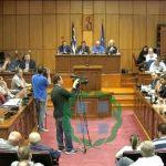 kozan.gr: Η αναφορά, του περιφερειακού συμβούλου Νικόλαου Κουρκούτα, περί πράξης εσχάτης προδοσίας, που προκάλεσε την έντονη αντίδραση του Ρ. Αλεξανδρή, ο οποίος στη συνέχεια είχε αντιπαράθεση με τον πρόεδρο Φ. Κεχαγιά, με αποτέλεσμα να τον αποβάλλει για λίγα λεπτά από την αίθουσα (Βίντεο)