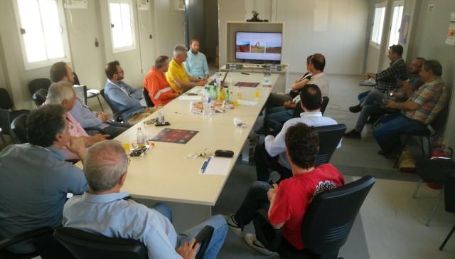 Επίσκεψη μελών Τεχνικού Επιμελητηρίου Ελλάδας/Τμήματος Δυτικής Μακεδονίας σε εργοτάξια του διαδριατικού αγωγού φυσικού αερίου TAP (Φωτογραφίες)