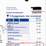 Σχόλιο αναγνώστη του kozan.gr σχετικά με λογαριασμό της ΔΕΗ