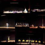 Μουσική δυνατά, φώτα, σκηνή, ξύλινο πάτωμα, μια ομάδα, σκηνικά και χορογραφίες στην παράσταση της χορο-θεατρικής ομάδας «'Έκφραση», που πραγματοποιήθηκε την Τετάρτη 27/6, στη Στέγη Ποντιακού Πολιτισμού στην Κοζάνη