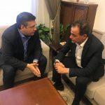 Συνάντηση Απ. Τζιτζικώστα – Θ. Καρυπίδη – Στο επίκεντρο της συζήτησης, η αυριανή κοινή σύσκεψη για το Σκοπιανό (Βίντεο)