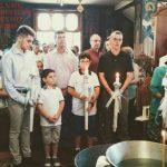 Τετραμελής οικογένεια μεταναστών που διαμένει στο Βελβεντό  βαπτίστηκαν ορθόδοξοι χριστιανοί – έγιναν μέλη της Εκκλησίας (του παπαδάσκαλου Κωνσταντίνου Ι. Κώστα)