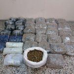 Συνελήφθησαν, σε περιοχή της Κοζάνης, από την Υποδιεύθυνση Ασφάλειας Καστοριάς, 2 αλλοδαποί για διακίνηση μεγάλης ποσότητας ακατέργαστης κάνναβης, βάρους -41- κιλών και  -570- γραμμαρίων (Φωτογραφίες)