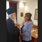 Ολυμπία Τελιγιορίδου: Συνάντηση με τον  Αρχιεπίσκοπο Αλβανίας κ.κ. Αναστάσιο (Δελτίο τύπου)