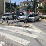 kozan.gr: Τροχαίο ατύχημα και πάλι έξω από το νοσοκομείο Κοζάνης (Φωτογραφίες)