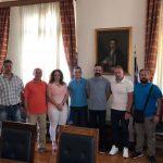 Σε συνέχεια των εθιμοτυπικών συναντησεων της Ένωσης Αστυνομικών Υπαλλήλων Κοζάνης το Διοικητικό Συμβούλιο συναντήθηκε σήμερα 30/7 με το δήμαρχο Λ. Ιωαννίδη (Φωτογραφία)