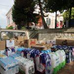 Τρόφιμα και φάρμακα, συγκέντρωσαν οι πολίτες του Βελβεντού, για τους πυρόπληκτους της Αττικής