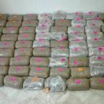 Σύλληψη 40χρονου για διακίνηση μεγάλης ποσότητας ακατέργαστης κάνναβης, βάρους 75 κιλών και 970,5  γραμμαρίων, σε περιοχή των Γρεβενών (Φωτογραφίες)