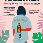 Το Together Free Press διοργανώνει την Κυριακή 22 Ιουλίου το απόλυτο day to night party